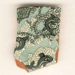 Fish Tile Fragment